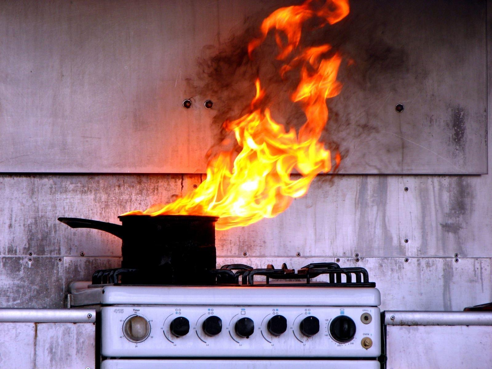 возгорание причина пожара