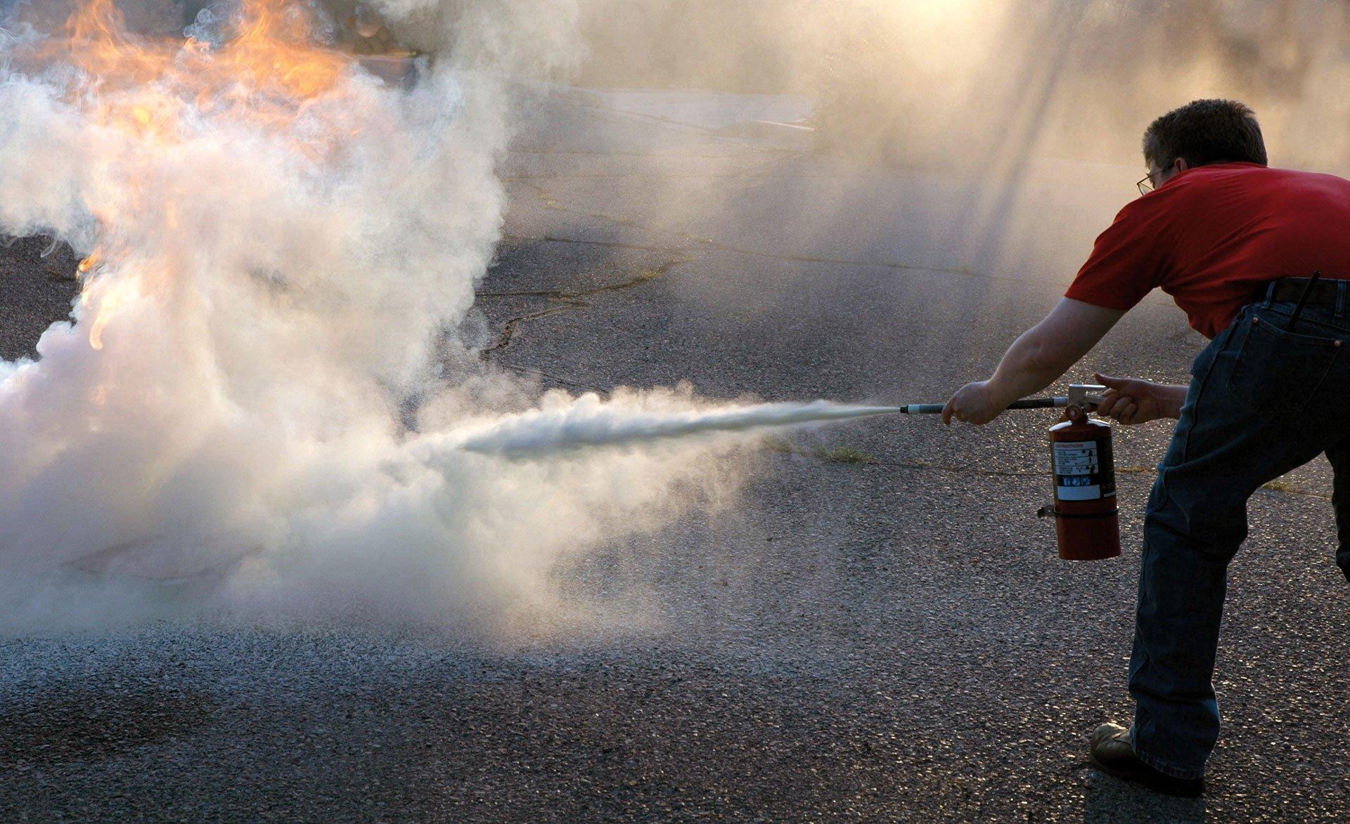 порошковые огнетушители описание