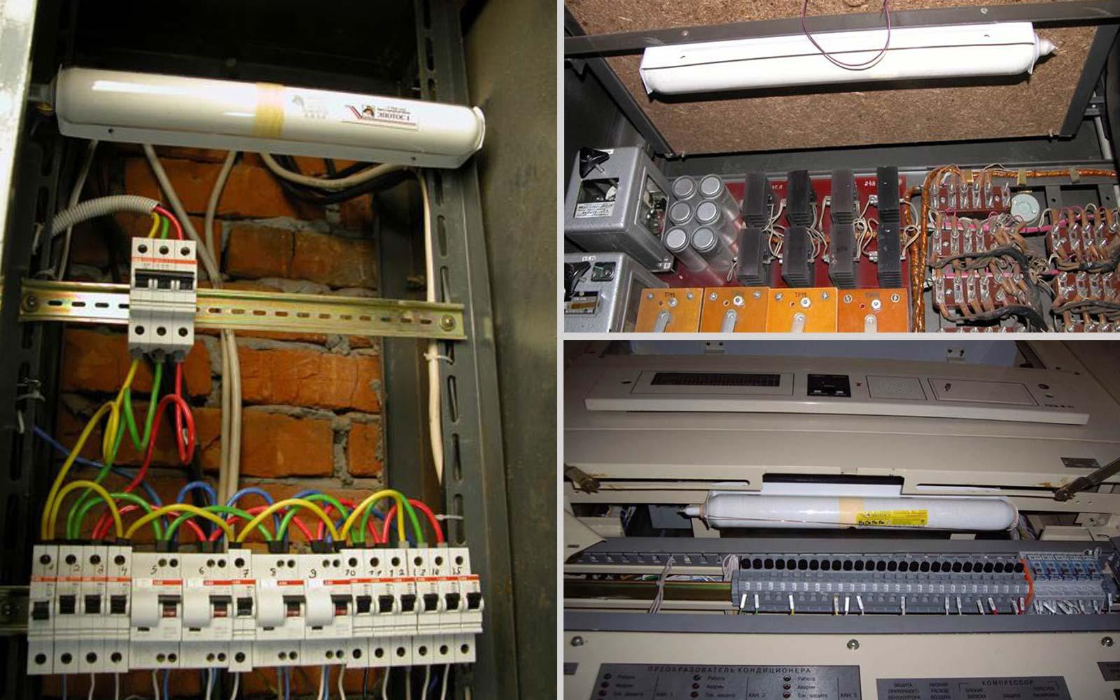 самосрабатывающие огнетушители в электроустановках