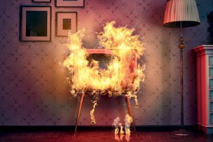 что делать при пожаре в квартире