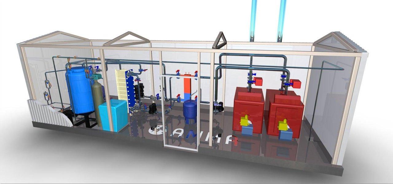 блочно-модульная газовая котельная