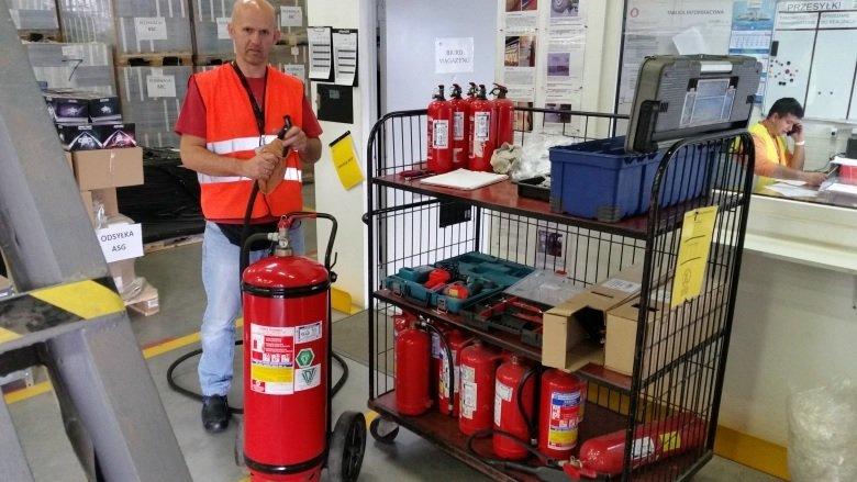 Цех по утилизации огнетушителей