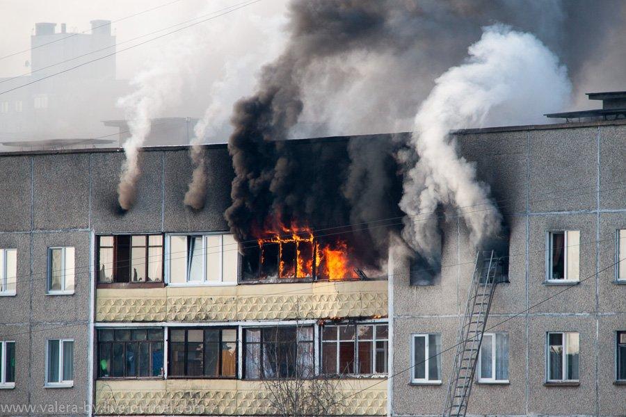 Причина пожара взрыв бытового газа