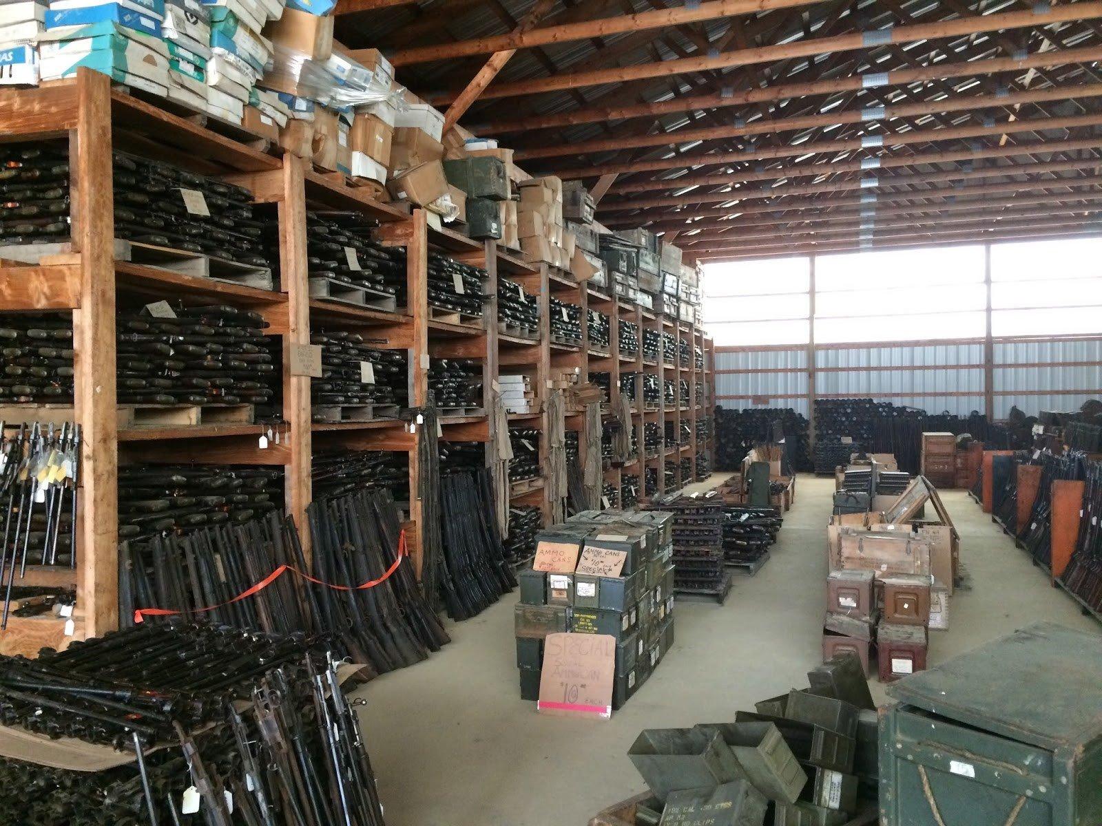 склады с вооружением