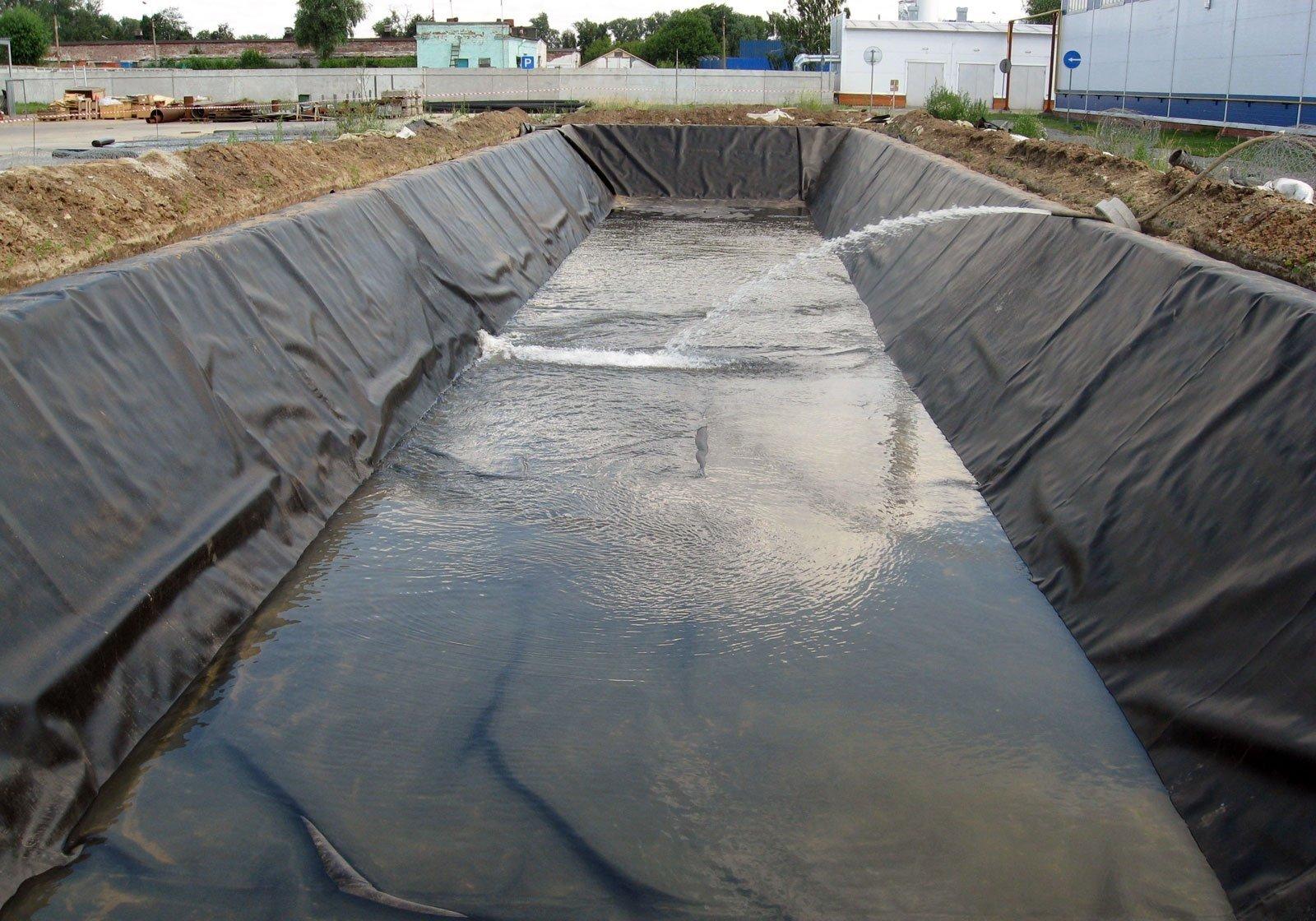 создание водоема