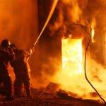 На какие классы делятся пожары
