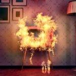 Как действовать при пожаре в квартире?