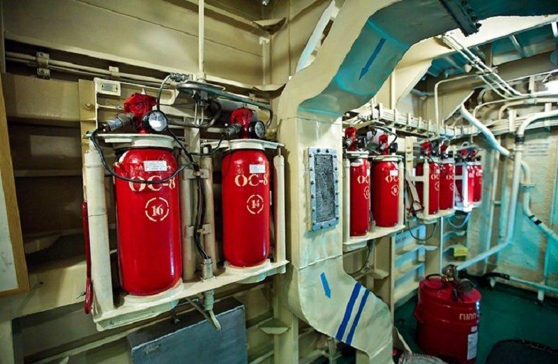 Системы пожаротушения на судне