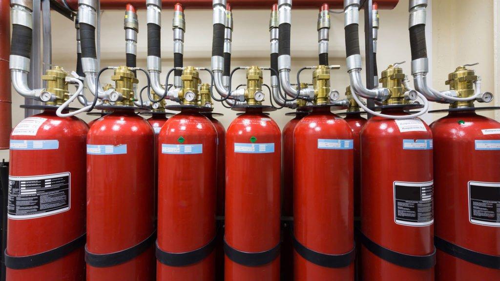 газовое пожаротушение