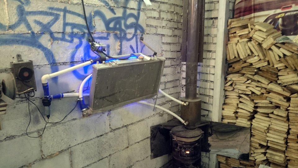 Нарушение техники пожарной безопасности в гараже