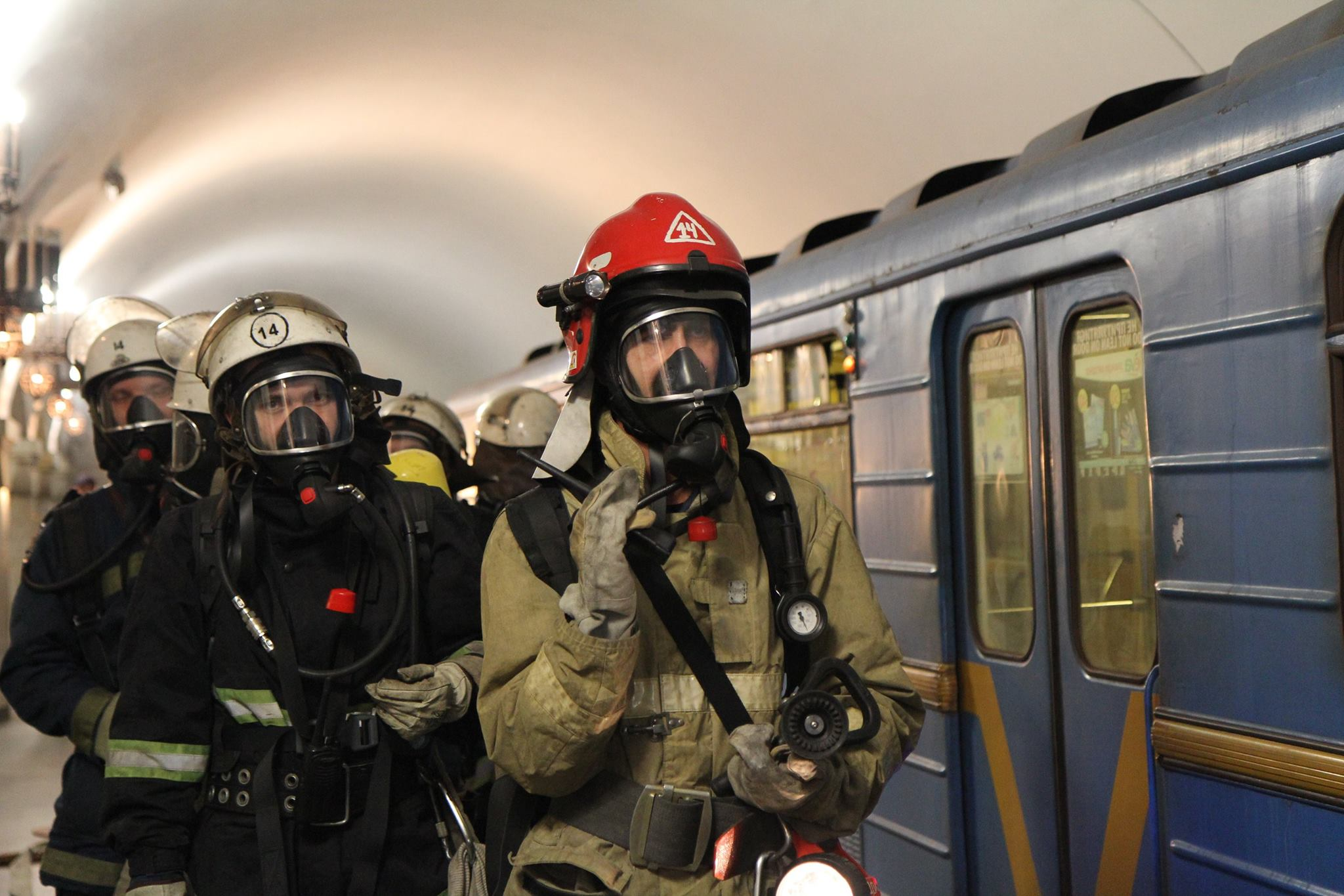 пожарная безопасность в метро