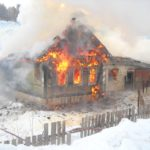 Причины пожаров зимой